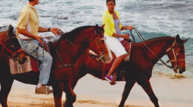 Horseback Riding on the Beach - Hawaii Polo Trail Rides