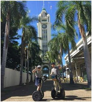segway tour - honolulu history and culture